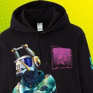 Fortnite DJ YONDER premium graphic hoodie